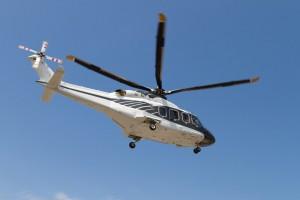 Hubschrauber zum Thema Abstand gewinnen